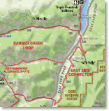 Maps of ATV Trails in Grand Staircase